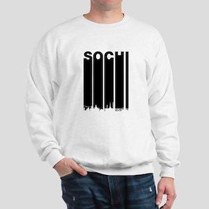 Retro Sochi Cityscape Sweatshirt
