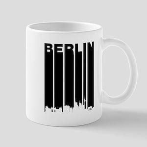 Retro Berlin Cityscape Mugs