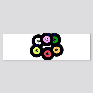 Singles Collection Bumper Sticker