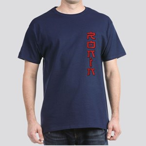 Ronin Text Design Red Dark T-Shirt