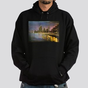 Chicago by Night Hoodie