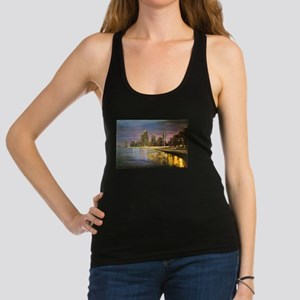 Chicago by Night Racerback Tank Top