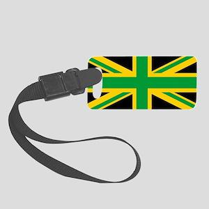 British - Jamaican Union Jack Small Luggage Tag