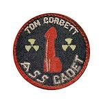"""Tom Corbett Ass Cadet Patch - Big 3.5"""" Button"""