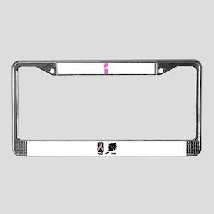 LOVE=HOPE License Plate Frame