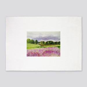 Lavender Fields Forever! 5'x7'Area Rug