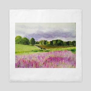 Lavender Fields Forever! Queen Duvet
