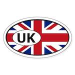 Great Britain United Kingdom Oval Sticker