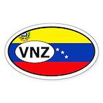 Venezuela Oval Sticker