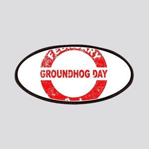 Groundhog Day Stamp Patch