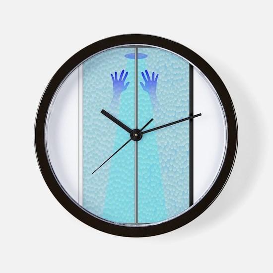 Shower Hands Wall Clock
