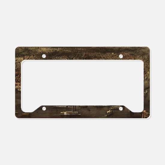 St louis License Plate Holder