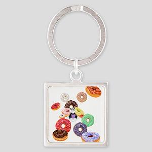 Panda & Donuts Keychains