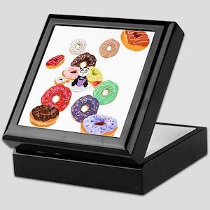 Panda & Donuts Keepsake Box