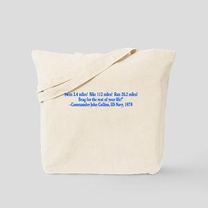 Begining of Ironman Tote Bag