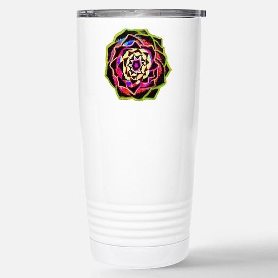 Organic Mandala Travel Mug