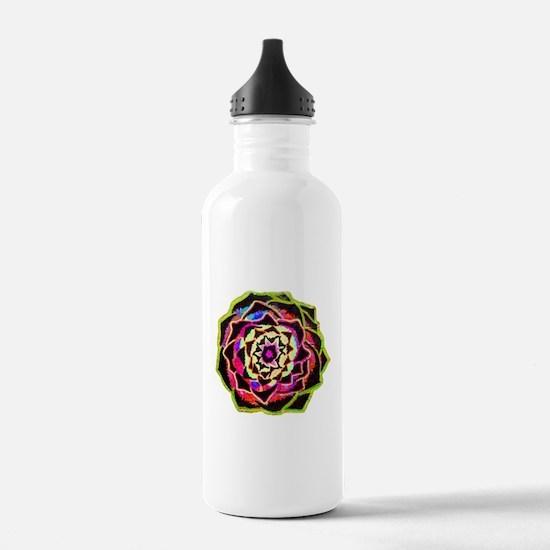 Organic Mandala Water Bottle