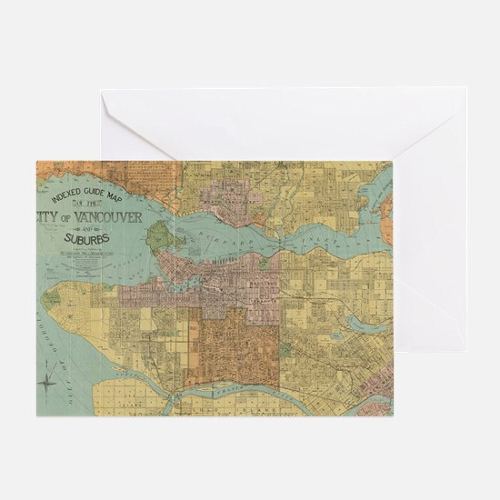 Cute Vancouver Greeting Card