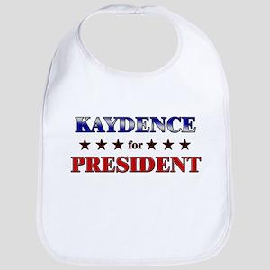 KAYDENCE for president Bib