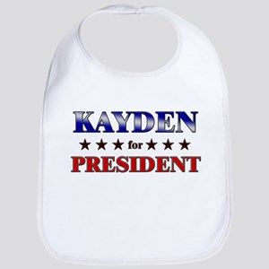 KAYDEN for president Bib