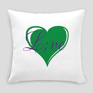 mental health awareness live Everyday Pillow