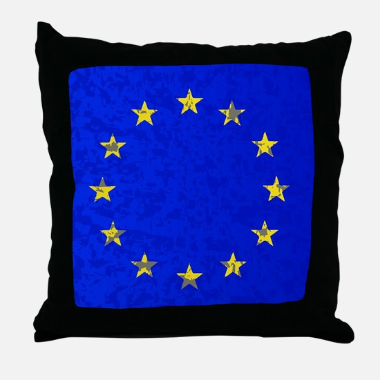 EU Flag Throw Pillow