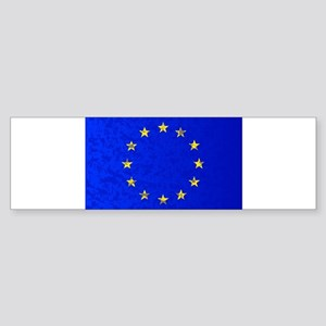 EU Flag Bumper Sticker