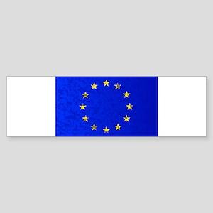 EU Flag Bumper Sticker