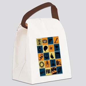 BONES TV Flat Icon Poster Canvas Lunch Bag