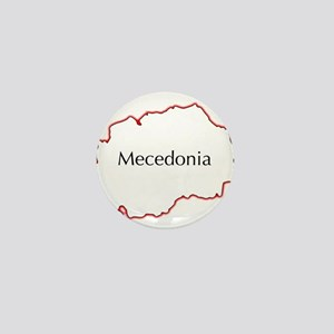 Macedonia Mini Button