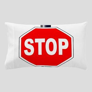 Octagon Stop Sign Pillow Case