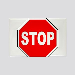 Octagon Stop Sign Magnets