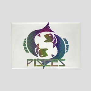 PISCES #3 Rectangle Magnet