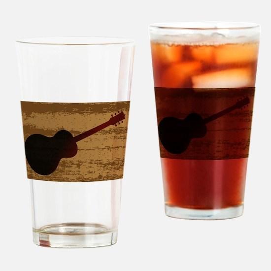 Guitar Brand Drinking Glass