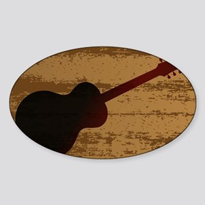 Guitar Brand Sticker
