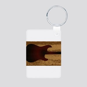 Electric Guitar Brand Keychains
