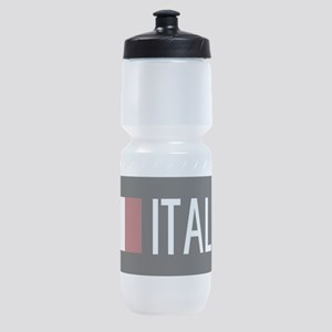 Italy: Italia & Italian Flag Sports Bottle