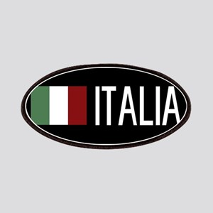 Italy: Italia & Italian Flag Patch