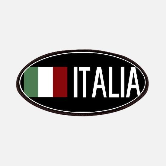 Italy: Italia & Italian Flag Patch