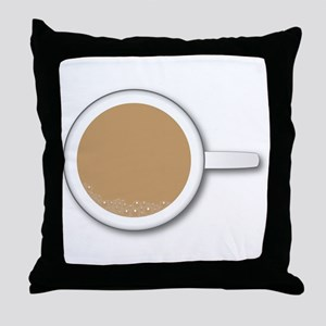 Tea Cup Throw Pillow
