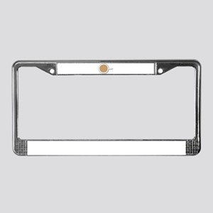 Tea Cup License Plate Frame