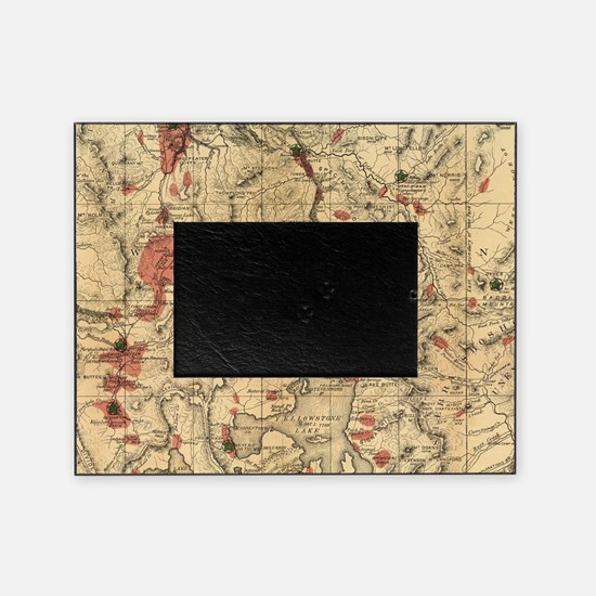 Cute Yellowstone national park Picture Frame