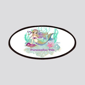 Cute Personalized Mermaid Patch
