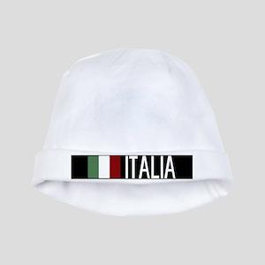 Italy: Italia & Italian Flag baby hat