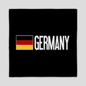 Germany: Germany & German Flag Queen Duvet