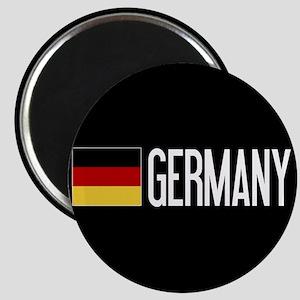 Germany: Germany & German Flag Magnet
