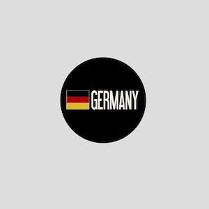 Germany: Germany & German Flag Mini Button