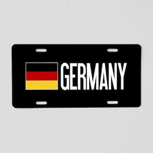 Germany: Germany & German F Aluminum License Plate