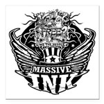 Massive Ink 900x900 Square Car Magnet 3
