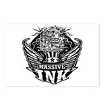 Massive Ink 900x900 Postcards (Package of 8)